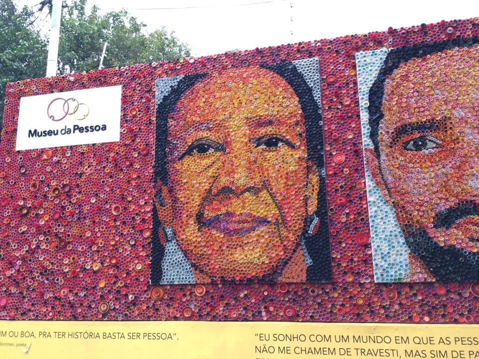 Fachada do Museu da Pessoa, em São Paulo (Foto: Lembraria)