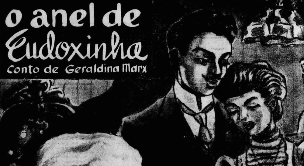 Gazeta Juvenil_25 de dezembro de 1949_O anel de Eudoxinha